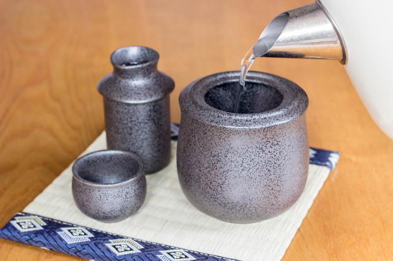 Sake Warmer Set Mino Ware Saketalk Shop