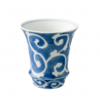Arita Ware SAKE GLASS Foliage Scroll
