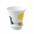 Arita Ware SAKE GLASS Moon&Rabbit