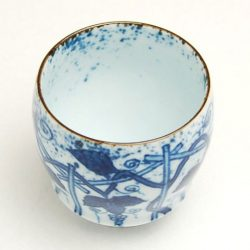 Arita Ware SAKE CUP Grape Vines
