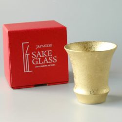 Arita Ware SAKE GLASS Gold Coating