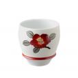 Arita Ware SAKE CUP Snow Camellia