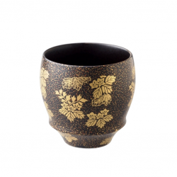 Arita Ware SAKE CUP Black Gold