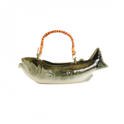 Fish Katakuchi Sake Server
