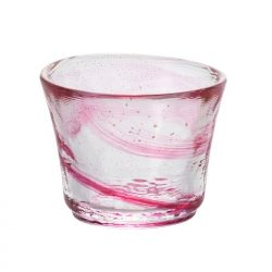 Glass Sake Cup Spring Wind