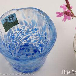 Glass Sake Cup Cloud Sky