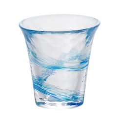 Glass Sake Cup Sound of Wave