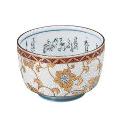 Kutani Ware Sake Cup White Dot