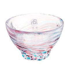 Glass Sake Cup Spring Haze
