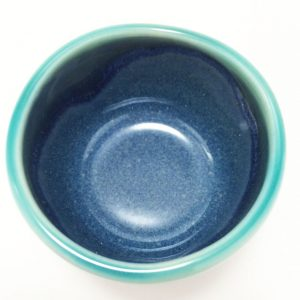 Mino Ware Sake Set Ocean Blue