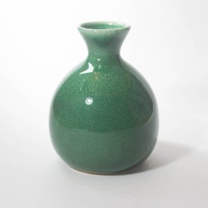 Mino Ware Tokkuri Server Green