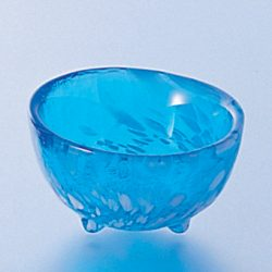 Glass Sake Cup Summer Sea