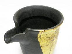 Kutani Ware Sake Set Gold Foil