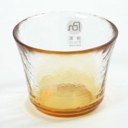 Glass Sake Cup Autumn Field