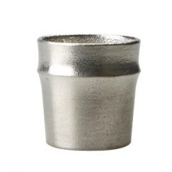 Nousaku Tin Sake Cup Guinomi Bamboo