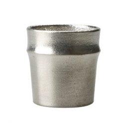 Nousaku Tin Sake Cup Guinomi Bamboo