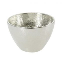 Nousaku Tin Sake Cup Guinomi Gold (Small)