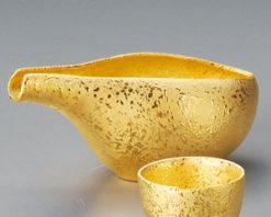 Gold Katakuchi Cold Sake Set