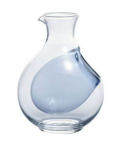 Cold Sake Carafe Ice Pocket Blue