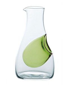 Cold Sake Carafe Ice Pocket Green