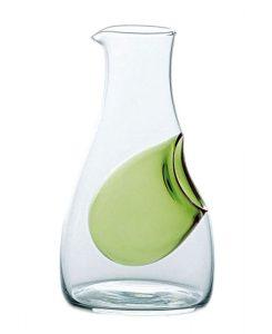 Cold Sake Carafe Ice Pocket Green