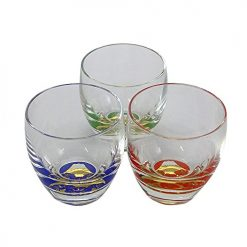 Sake Glass 3 Pieces Set Fuji