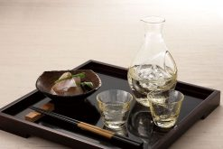 Cold Sake Set Ice Pocket Amber