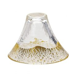Sakazuki Sake Glass Transparent Gold