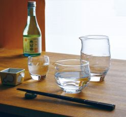 Glass Clear Katakuchi Server (Large)