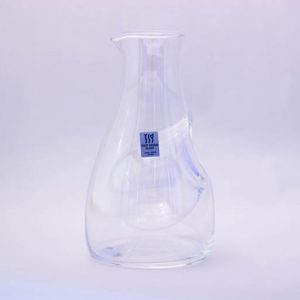 Cold Sake Carafe Ice Pocket Clear