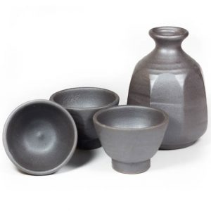 octagon sake set