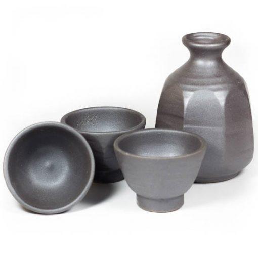 octagon sake set