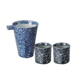 Arabesque Katakuchi Cold Sake Set