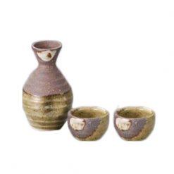 Shigaraki Sake Set Rokubei