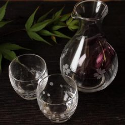 Cold Sake Set Ice Pocket Purple