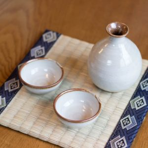 Arita Ware Sake Set White