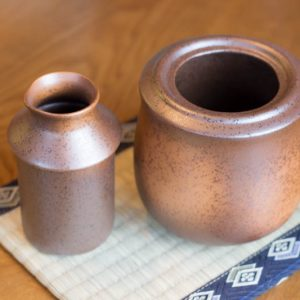 Sake Warmer Mino Brown