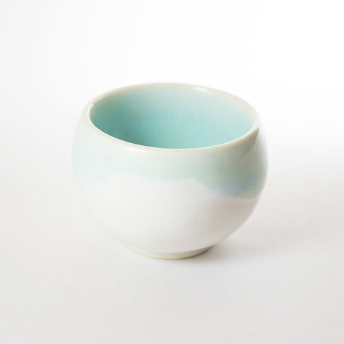 Mino Ware Sake Cup Light Blue