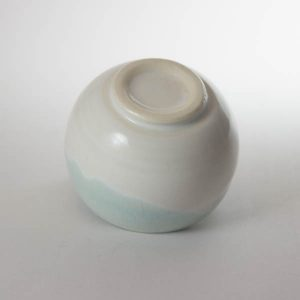 mino sake cup light blue