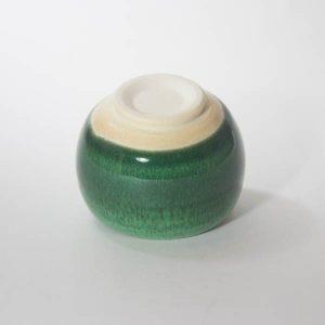 Mino Ware Sake Cup Green