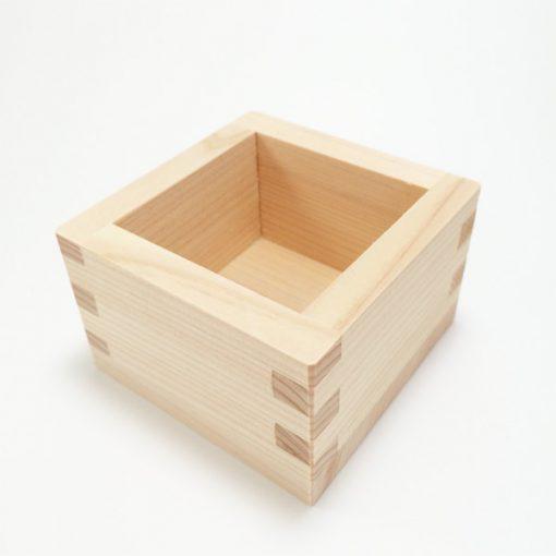 Hinoki Cypress Masu Wooden Sake Box