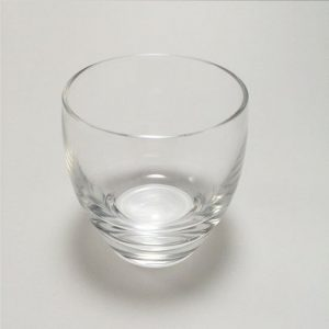 Glass Sake Glass Plain Bowl Shape