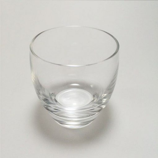 Glass Sake Glass Plain Bowl-Shape