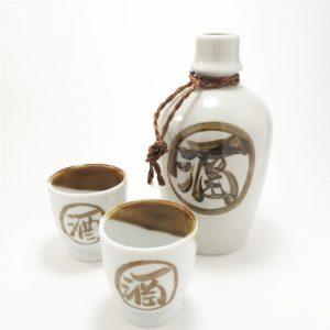 Product Details of Sake Kanji Sake Set