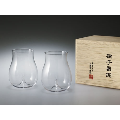 Usuhari Daiginjo Sake Glass 2pc Set