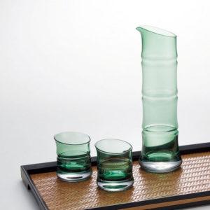 Cold Sake Set bamboo