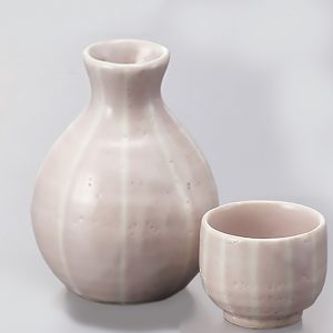 Sakura Shino Sake Set