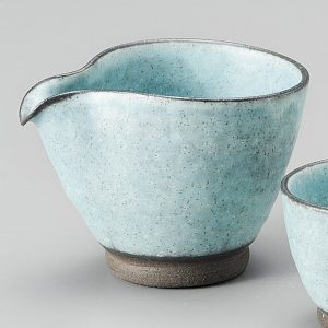 Turquoise blue Sake Set