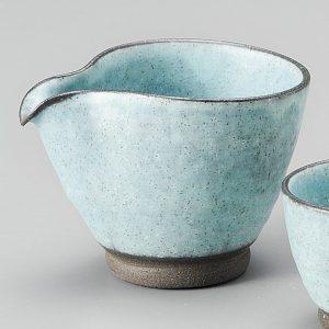 Turquoise blue Sake Set