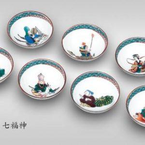 The Seven Lucky Gods Sakazuki Set